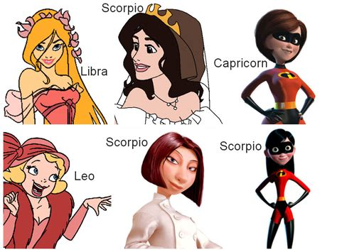 Disney Heroines Zodiac 7 By Drenlover On Deviantart