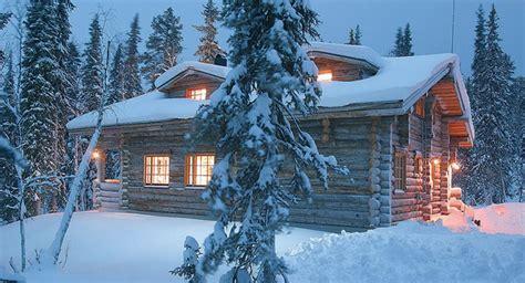 lapland log cabin yllas log cabins yllas lapland finland ski holidays