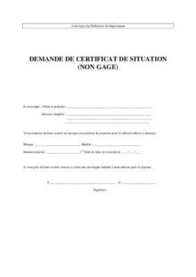 telecharger certificat de non gage certificat de non gage pdf notice manuel d utilisation