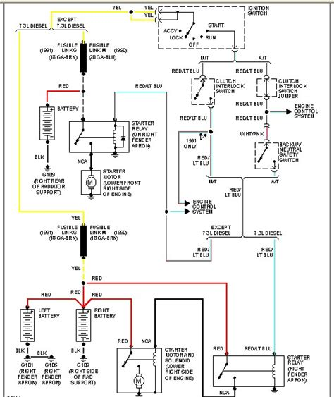 ford   wd     view  wiring diagram   selenoid relay