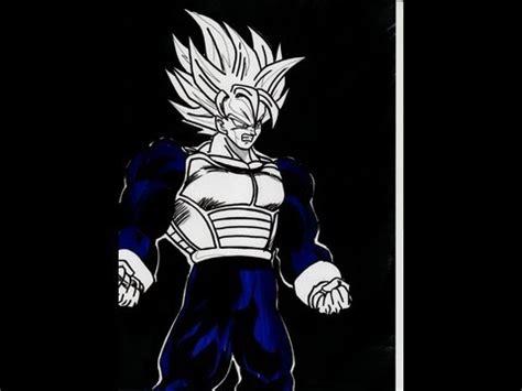 draw goku armor saiyan youtube