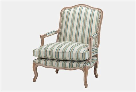 Wesley Barrell Armchairs by Malmaison Armchair Decape Finish In Kravet Weaves 32569