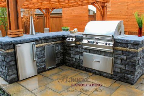 outdoor kitchen counters outdoor kitchen countertops b rocke landscaping