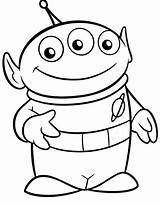 Coloring Toy Story Alien Disney Theme Printable Colouring Sheets Rocks Party sketch template