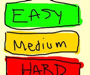 Do things the hard way.