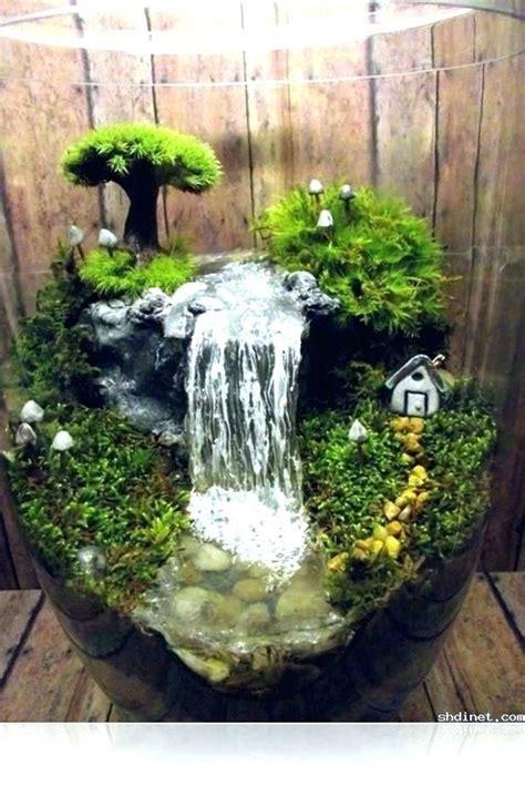 small indoor fountains  waterfalls homemade waterfall