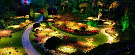 5 benefits of landscape lighting garden lights