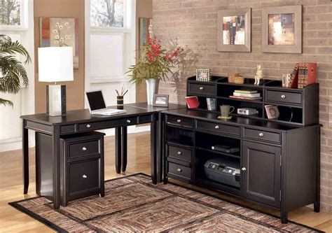black home office desk office depot tables office furniture
