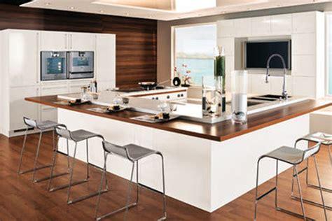 cuisine ilot centrale design ilot de cuisine avec coin repas galerie avec ilot central