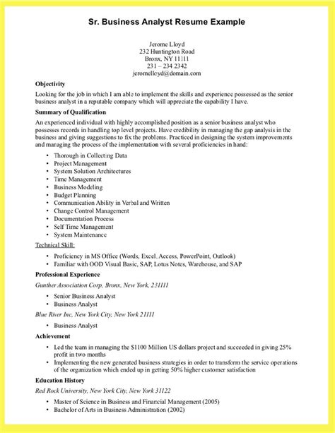 Resume Writing Business by Resume Writing Business Analyst Business Analyst Resume
