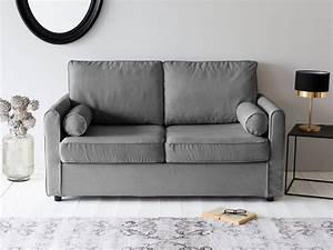 Canapé Deux Places : petit canape deux places maison design ~ Melissatoandfro.com Idées de Décoration