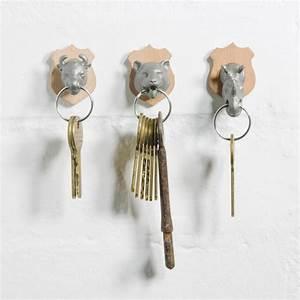 Animal, Head, Key, Holders