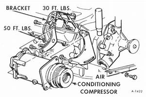 An Iso Drawing Of The A  C Compressor