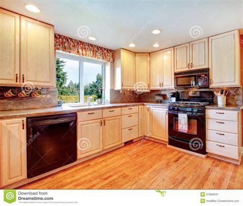 id cuisine simple pièce chaude simple de cuisine de couleurs image stock