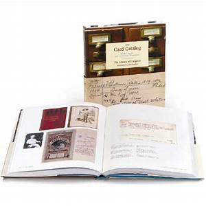 The, Card, Catalog, Books, Cards, And, Literary, Treasures, Library, Of, Congress, U2013, Library, Of, Congress, Shop