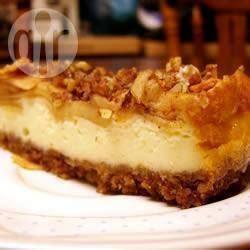 g 226 teau au fromage d automne recettes allrecipes qu 233 bec