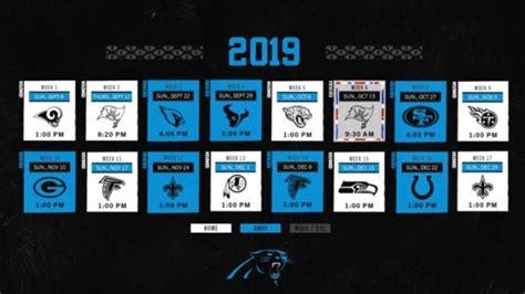 takeaways  carolina panthers  schedule