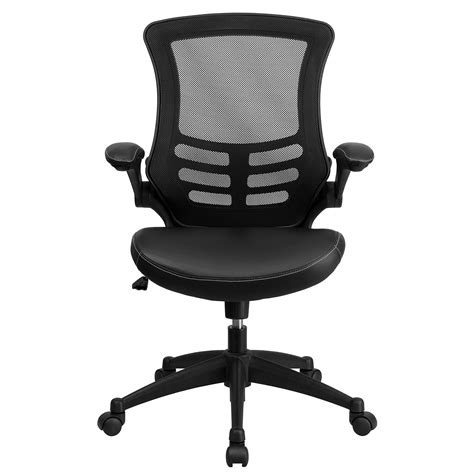 save 22 mid back black mesh swivel task chair with