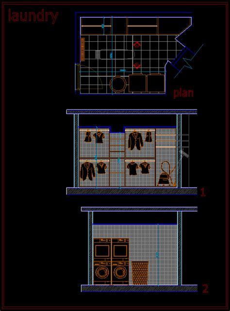 laundry room dwg block  autocad designs cad