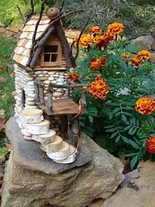 Die Schönsten Steingärten : aus steinchen kann man die sch nsten elfenh user basteln dies ist eine bereicherung f r jeden ~ Bigdaddyawards.com Haus und Dekorationen