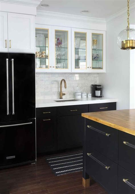 Gorgeous 15  Grey Cabinets With Gold Hardware Ideas   Sofa