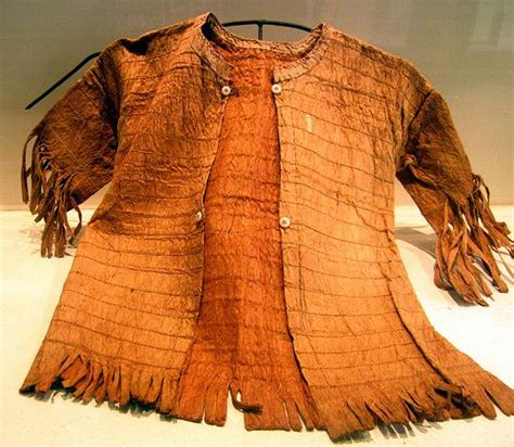 bark clothes   dayak tribe kalimantan indonesia