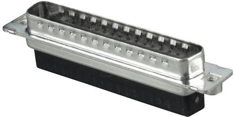 D-sub Plug, 37-pin, Crimp Connector At