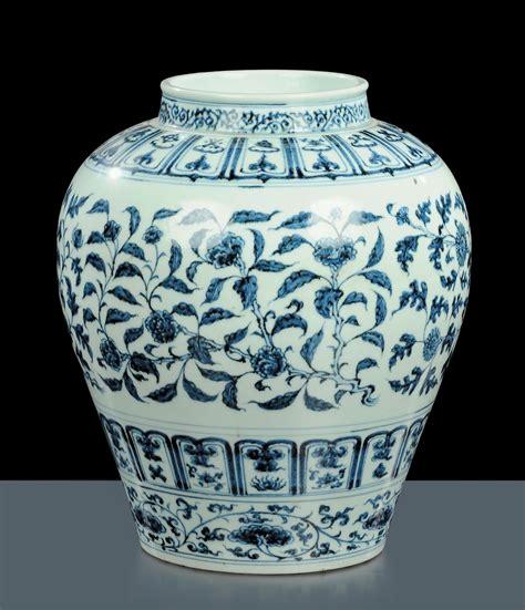vasi ming vaso in porcellana cina stile ming arte orientale