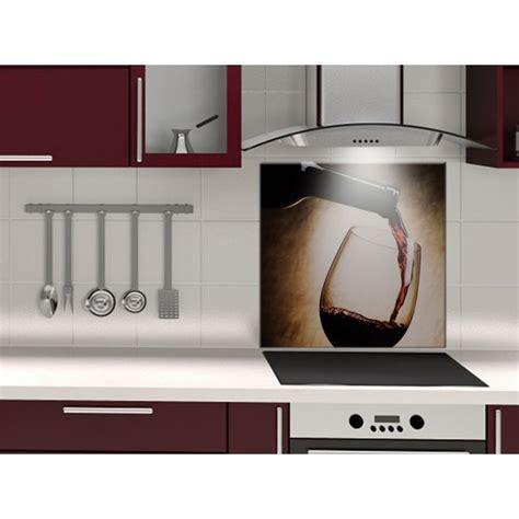 carreaux muraux cuisine fond de hotte verre ou alu vin
