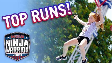 ninja warrior junior american season universal runs
