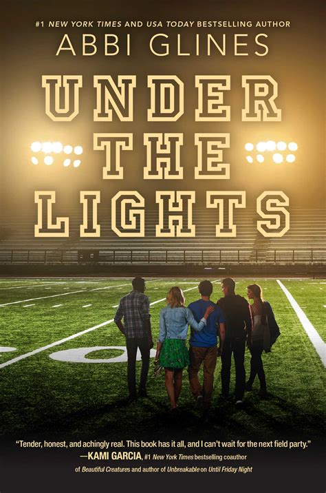 friday night lights book characters under the lights book by abbi glines official