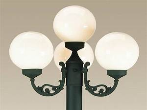 Replacement globes for european four light patio lanterns for Exterior lighting globes replacement