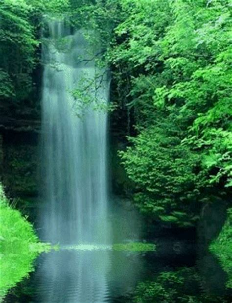 gambar air terjun bergerak animasi  gambar bergerak