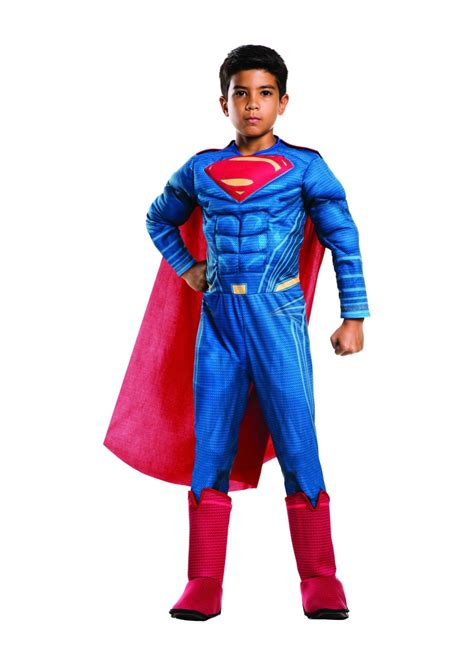 batman v superman superman boys costume