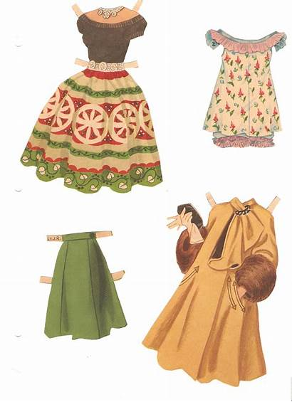Clothes Misc Paper Dolls Missy Miss