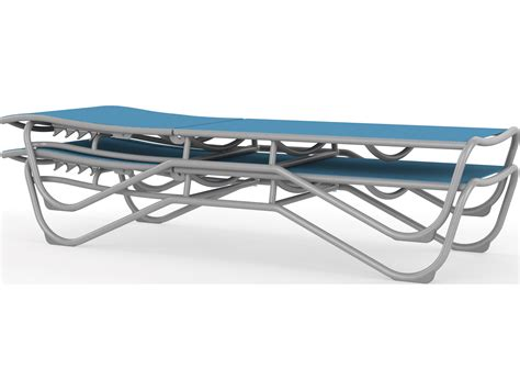Tropitone Millennia Relaxed Sling Aluminum Chaise Lounge