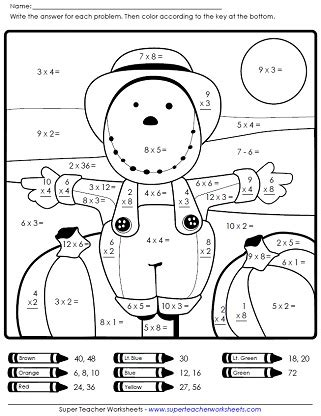 8 Best Images Of Fall Free Math Printables  Free Printable Fall Worksheets Kindergarten, Fall