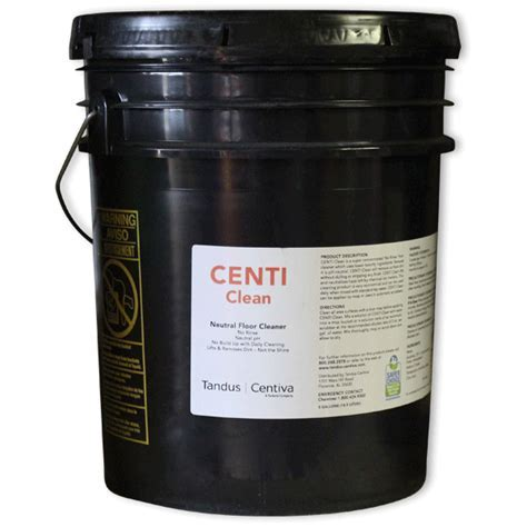 CENTI CLEAN, 5 GallonCentiva Residential & Commercial