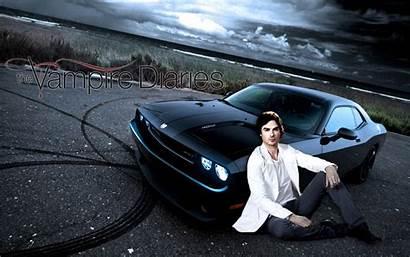 Diaries Vampire Damon Wallpapers Fanpop Salvatore Wallpapersafari