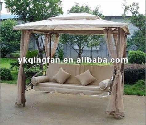 luxury gazebo hammock garden swing bed qf 6325 buy
