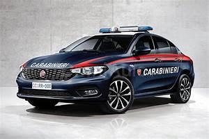 Fiat Tipo Rendered As An Italian Polizia Car