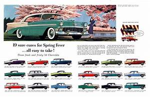 See 19 Different 1956 Chevrolet U0026 39 S On A Vintage Print Ad