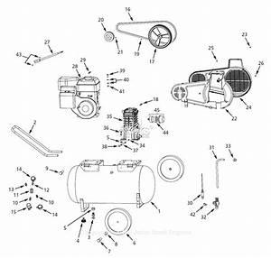 Campbell Hausfeld Air Compressor Parts Diagram