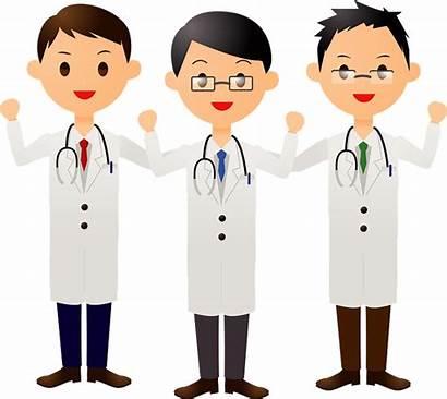 Clipart Doctors Medical Creazilla Cliparts Transparent