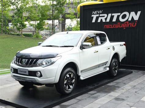 2018 Mitsubishi Triton Facelift Wonderful 2018 2018