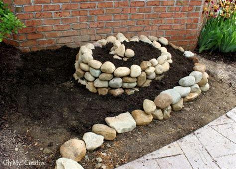 Create A Small Spiral Vegetable Garden