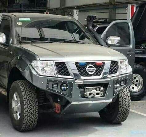 nissan frontier custom custom navara bumper nissan frontier mods pinterest