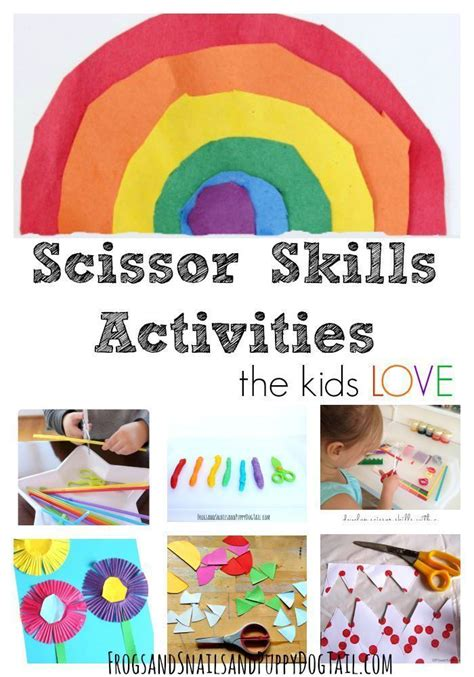scissor skills activities and crafts for crafts 225 | 740eda446bd5e9113f260803c0226225