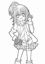 Coloring Anime Pages Printable Styles Various Forkids Via sketch template