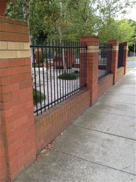 brick fencing design ideas  inspired